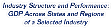 United States - Gross Domestic Product Across States and Regions of a Selected Industry