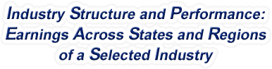 United States - Earnings Across States and Regions of a Selected Industry